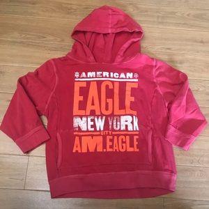 American Eagle 3/4 Sleeve Hoodie